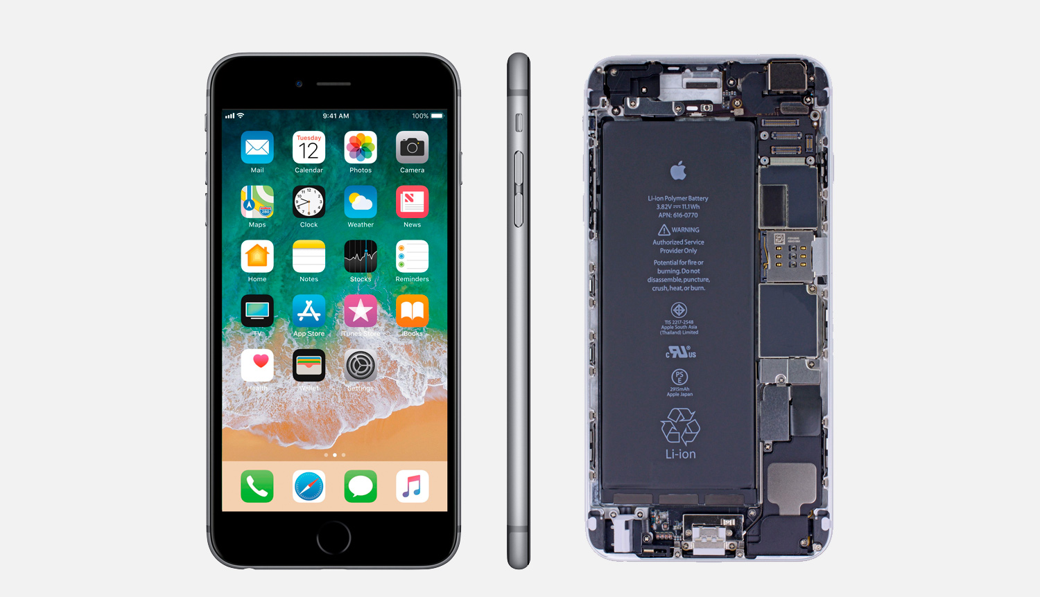 reparar placa base iPhone 6s