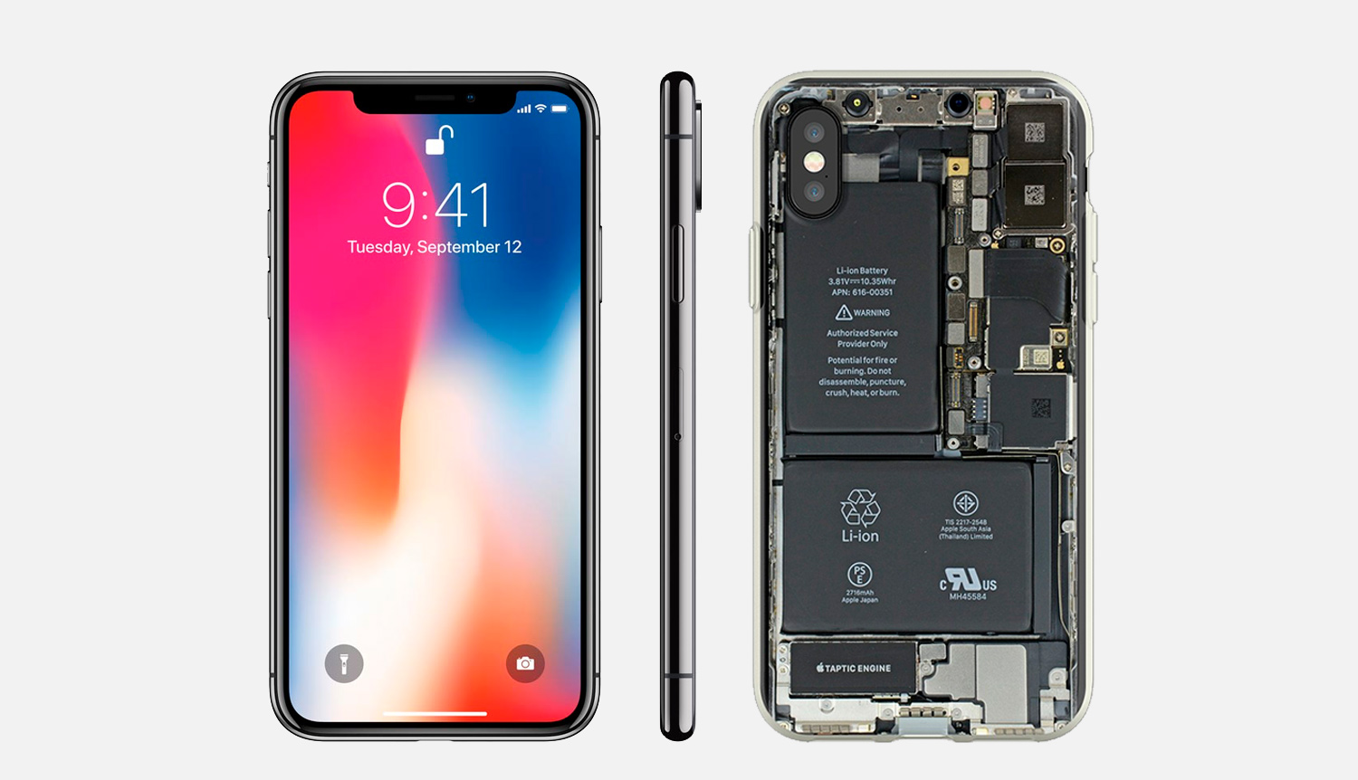reparar placa base iPhone x